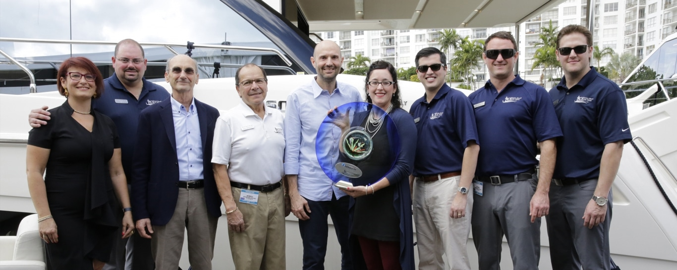 JBYS Earns Top Dealer for Absolute Yachts